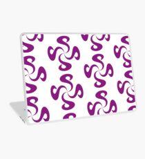 SheeArtworks Spiral Purple - Shee Vector Pattern Laptop Skin