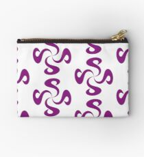 SheeArtworks Spiral Purple - Shee Vector Pattern Studio Pouch
