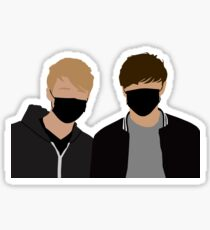 Sam and Colby Sticker
