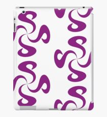 SheeArtworks Spiral Purple - Shee Vector Pattern iPad Case/Skin