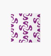 SheeArtworks Spiral Purple - Shee Vector Pattern Art Board