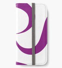 SheeArtworks Spiral Purple - Shee Vector Shape iPhone Wallet/Case/Skin