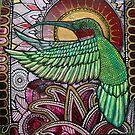 Flight of the Hummingbird by Lynnette Shelley
