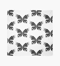 Graphic Butterfly B&W - Shee Vector Pattern Scarf
