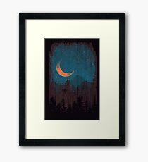 Those Summer Nights... Framed Print