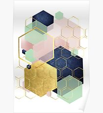 Luxe Geometric Poster