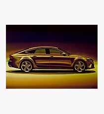 Audi RS7 2013 Mixed Media Photographic Print
