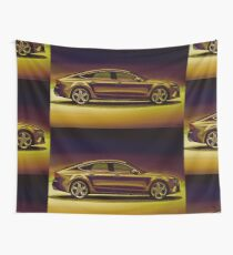 Audi RS7 2013 Mixed Media Wall Tapestry
