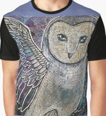 Winter Owl Graphic T-Shirt