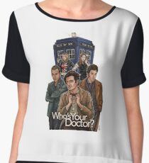 Who's Your Doctor? Chiffon Top