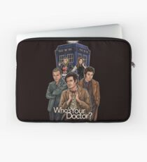 Who's Your Doctor? Laptop Sleeve