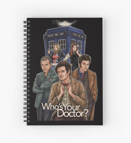 Who's Your Doctor? Spiral Notebook