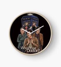 Who's Your Doctor? Clock