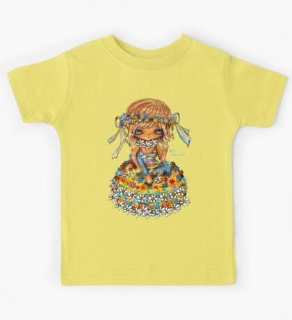 Flower Power TShirt Kids Clothes