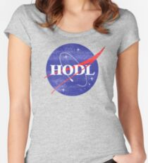 HODL Women's Fitted Scoop T-Shirt