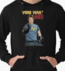 Captain Hammer - You Want Me Lightweight Hoodie