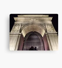 Classic Architecture, Greenwich Village, New York City  Canvas Print