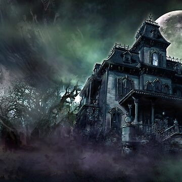 The Haunted House Paranormal by themonsterstore