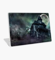 The Haunted House Paranormal Laptop Skin