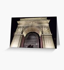 Classic Architecture, Greenwich Village, New York City  Greeting Card