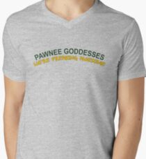 Pawnee Goddesses Men's V-Neck T-Shirt
