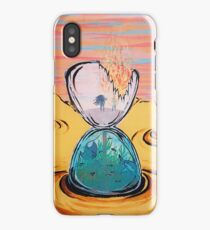 The Sun Is The Same acrylic painting iPhone Case/Skin