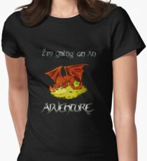Adventure Smaug Couples Tee Women's Fitted T-Shirt