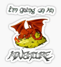 Adventure Smaug Couples Tee Sticker