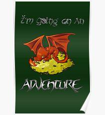 Adventure Smaug Couples Tee Poster