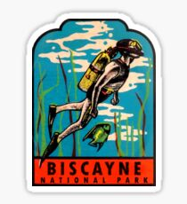 Biscayne National Park Florida Vintage Travel Decal Sticker