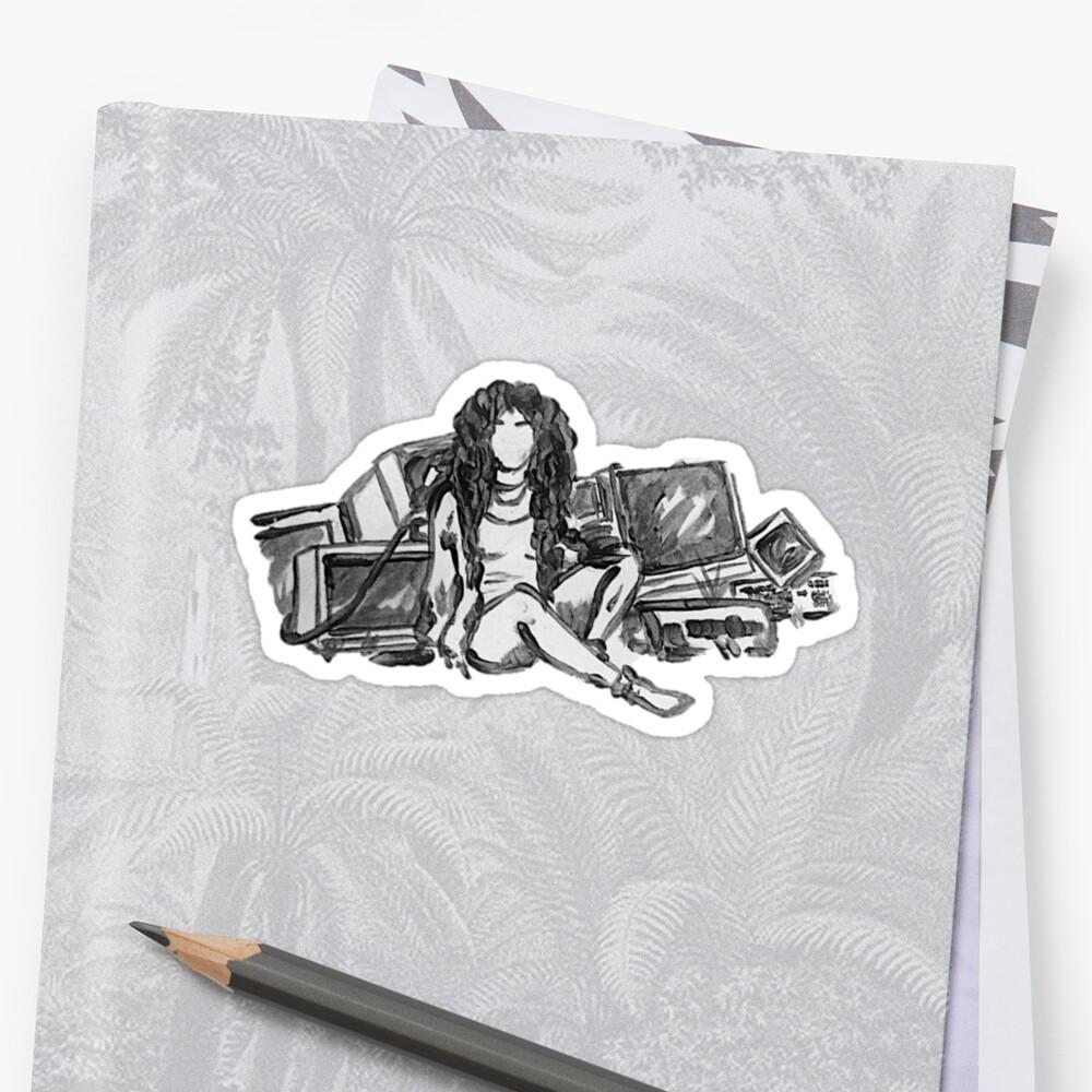 Crtl Sticker