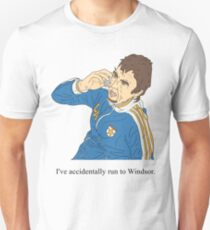 Super Hans | Accidentally run to Windsor  Unisex T-Shirt