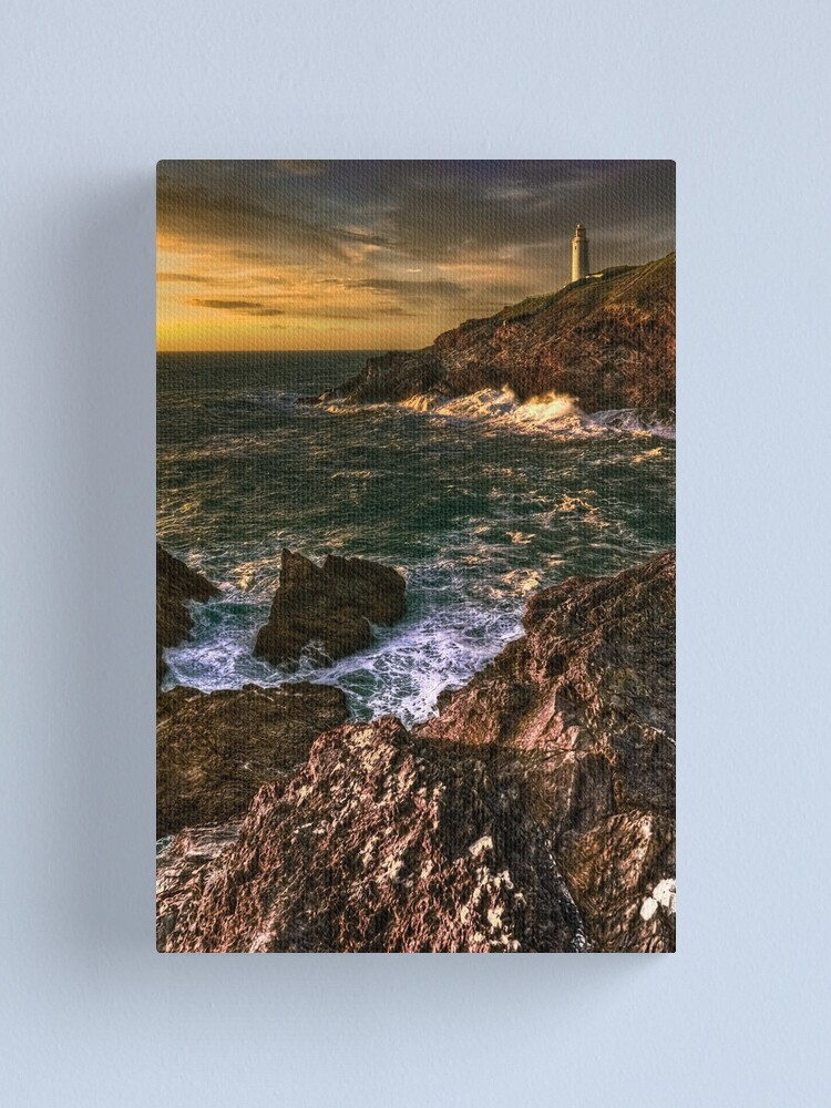 Alternate view of Trevose Head Lighthouse Canvas Print