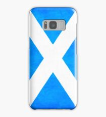 Vintage Flag Of Scotland - The Saltire Samsung Galaxy Case/Skin