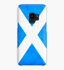 Vintage Flag Of Scotland - The Saltire Case/Skin for Samsung Galaxy