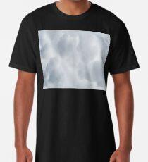 Fluffy Cotton Feel Cloud - Repeat Pattern Long T-Shirt