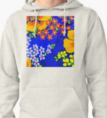 Memories of the 1970s flower power #1  Pullover Hoodie