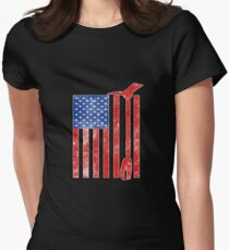 American Firefighter Women's Fitted T-Shirt