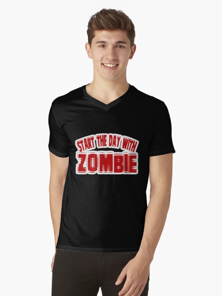 Zombie t-shirt by valizi