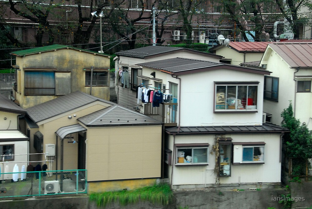 Typical Japanese Suburbia. by iansimages