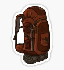 Backpacking Packpack Sticker