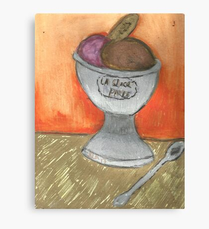 Creme Glacee'(Ice Cream) Canvas Print
