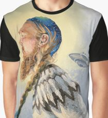 Nordic and Silver Graphic T-Shirt