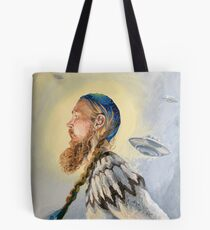Nordic and Silver Tote Bag