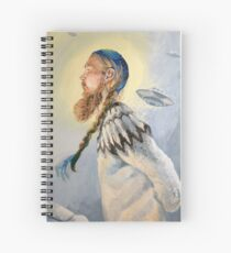 Nordic and Silver Spiral Notebook