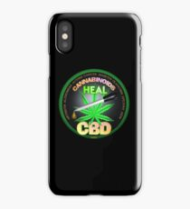 CBD Cannabinoids in Hemp oil Cures  learn truth about use of hemp oil to cure illness and pains. iPhone Case