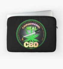 CBD Cannabinoids in Hemp oil Cures  learn truth about use of hemp oil to cure illness and pains. Laptop Sleeve
