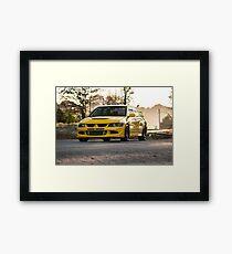 Lemon Evo Framed Print