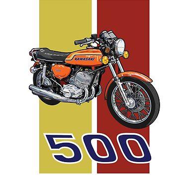Kawasaki H1 500 by limey57