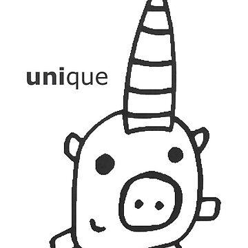 Unique Unicorn by marissagain